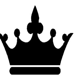 black crown clipart [ 1461 x 1219 Pixel ]
