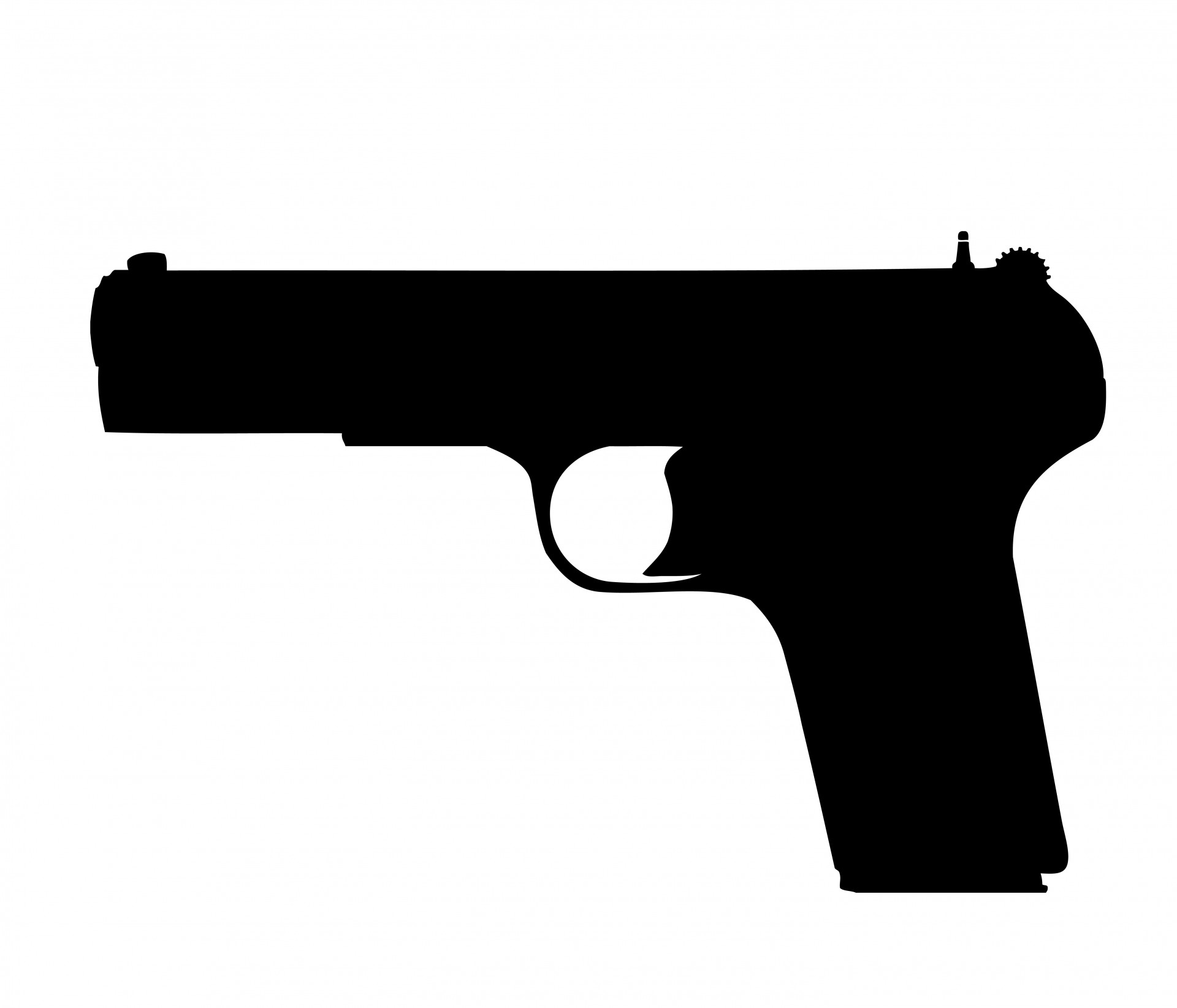 hight resolution of gun pistol clipart free stock photo