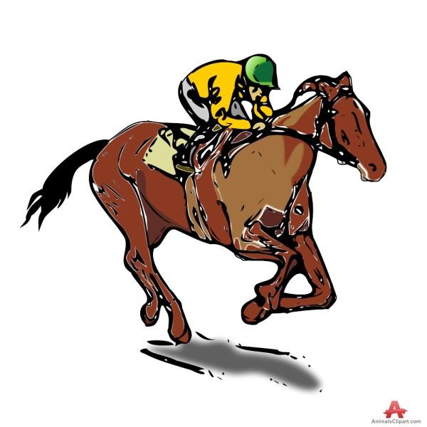 Horse Racer Clipart