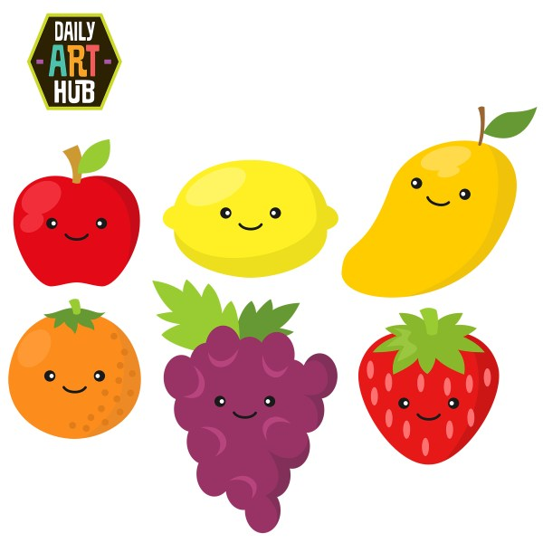 free fruits cliparts