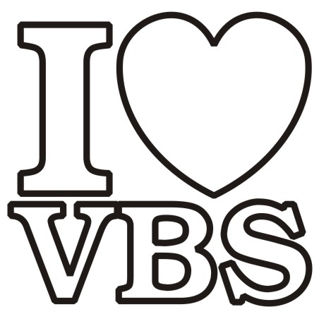 Vbs Black And White Clipart