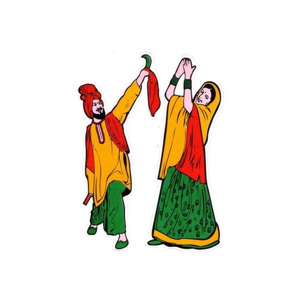 Bollywood Dance Clip Art