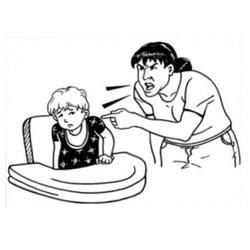 Abuse Clip Art