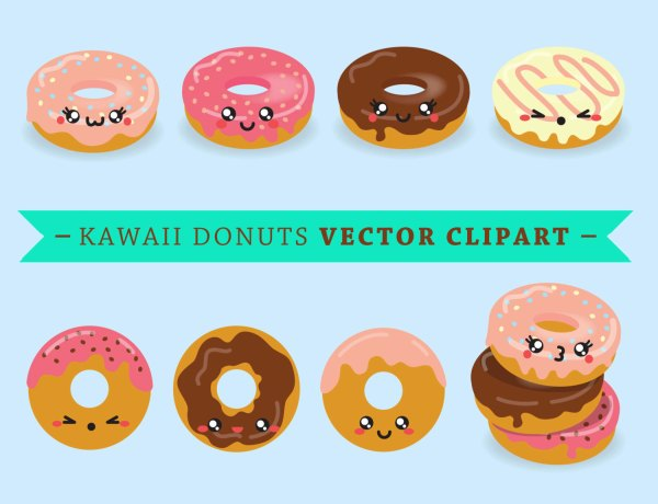 Popular Items Doughnuts Clip Art