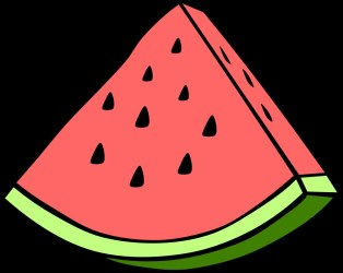 watermelon clipart clip library watermelons cliparts whole summer clipartmag