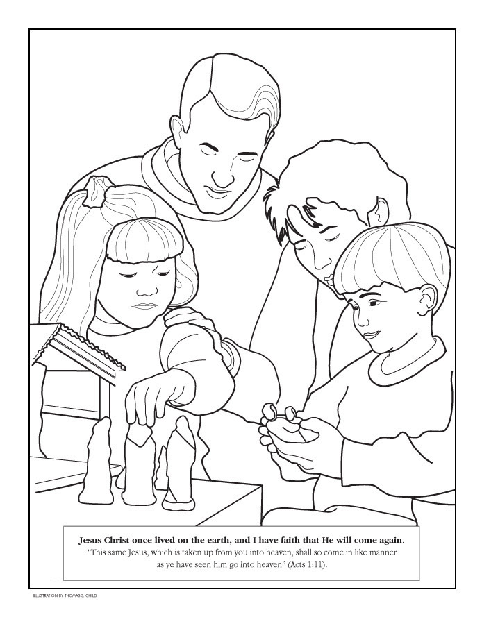 LDS Nephi And Laban Clipart