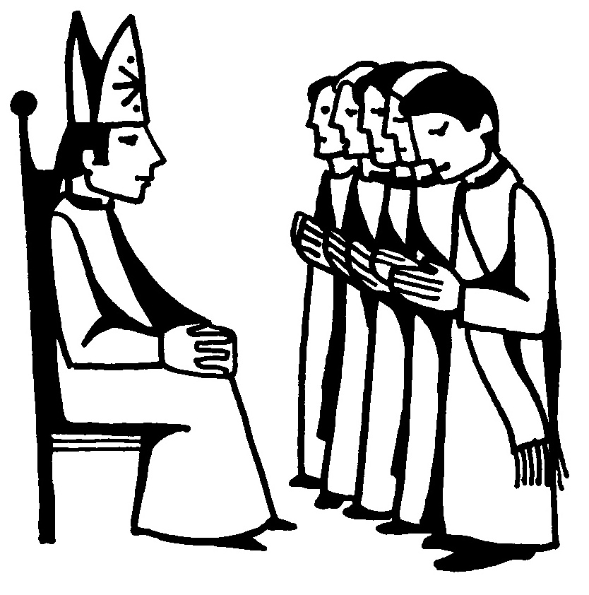 Ordination Clipart