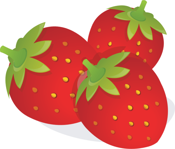 free strawberries cliparts