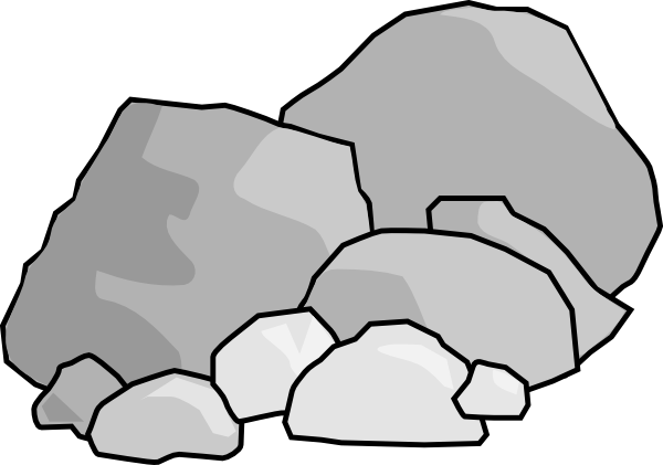 Pile Of Stones Clipart