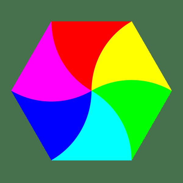 Hexagon Shape Clip Art