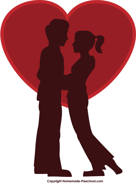 free romantic cliparts