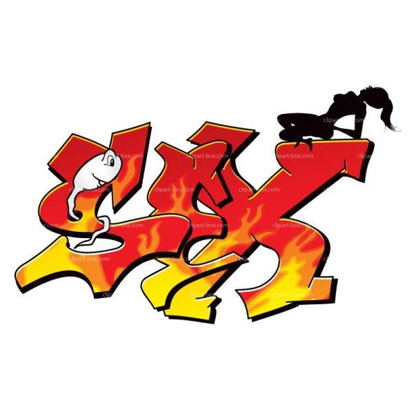 CLIPART SEX GRAFFITI