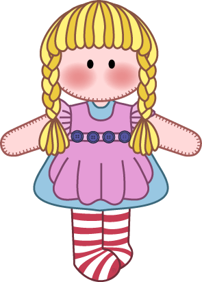 free doll cliparts