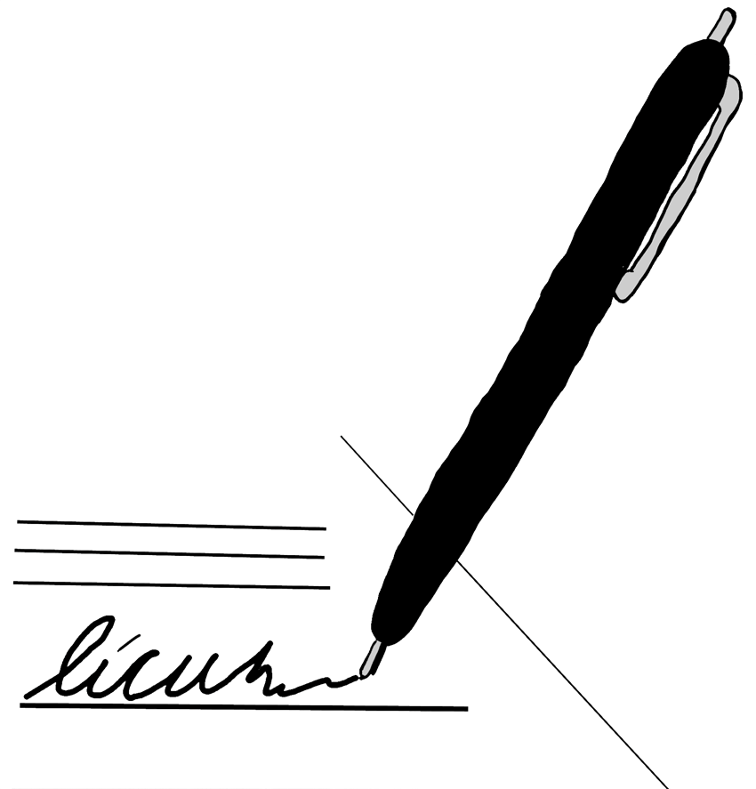 Free Signing Cliparts, Download Free Clip Art, Free Clip