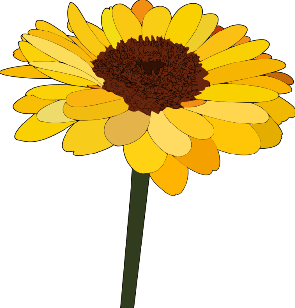free sunflowers cliparts