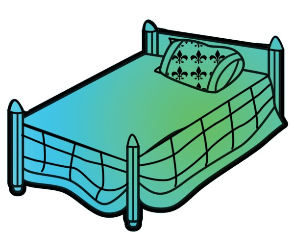 free beds cliparts