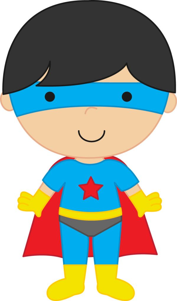 Super Hero Boy Clip Art Free