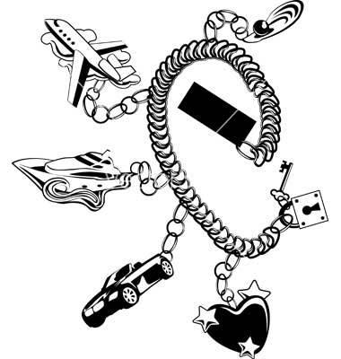 Bracelet Wire Galleries: Bracelet Vector