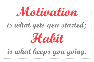 Healthy Habits Quotes Clipart