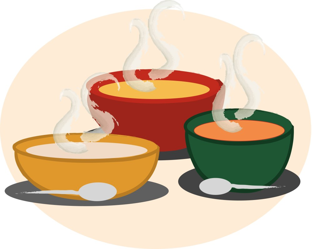 medium resolution of soup clip art pictures