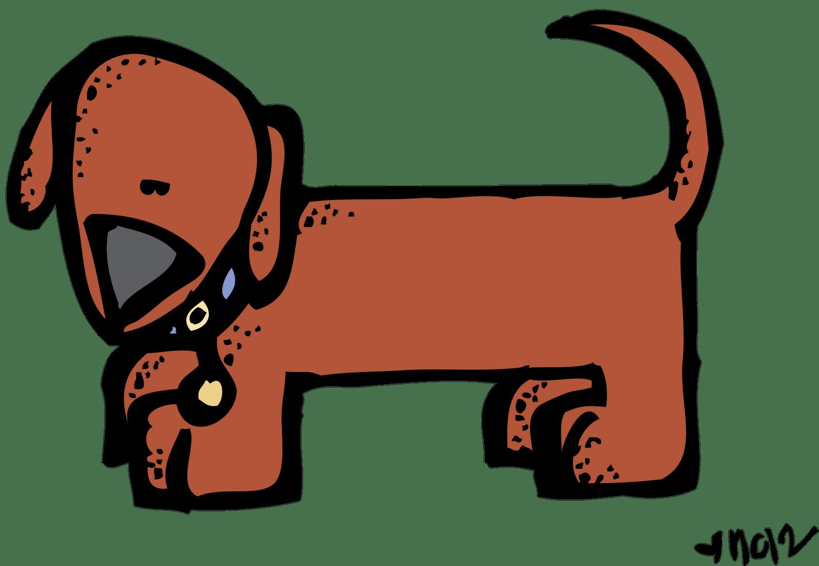hight resolution of weiner dog