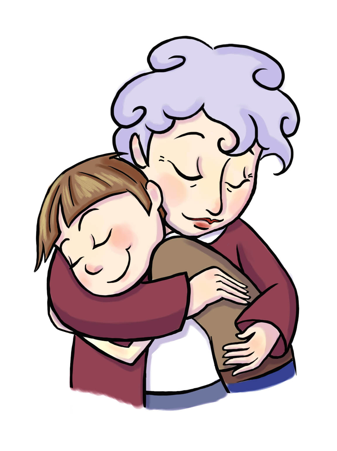 hight resolution of grandma clip art free