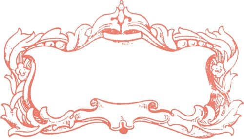 small resolution of fancy oval frame clip art free clipart image image