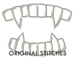 clipart fang teeth fangs clip gold cliparts library emblem