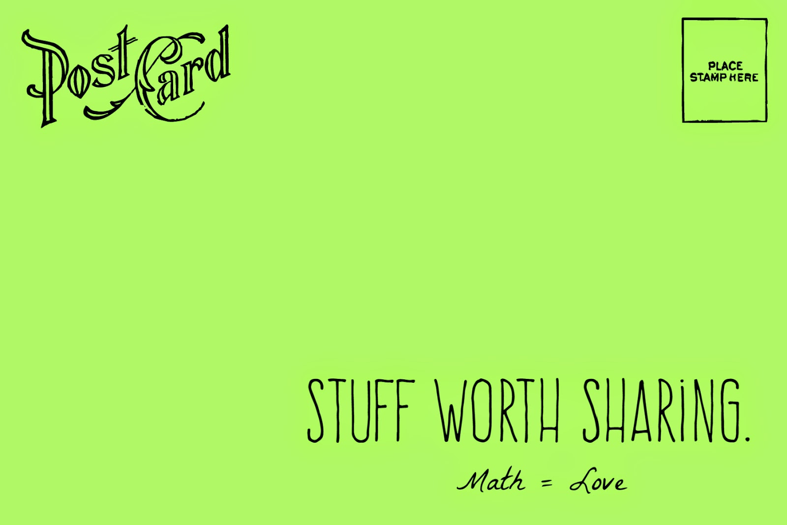 Math Love Stuff Worth Sharing Mathematical Clipart