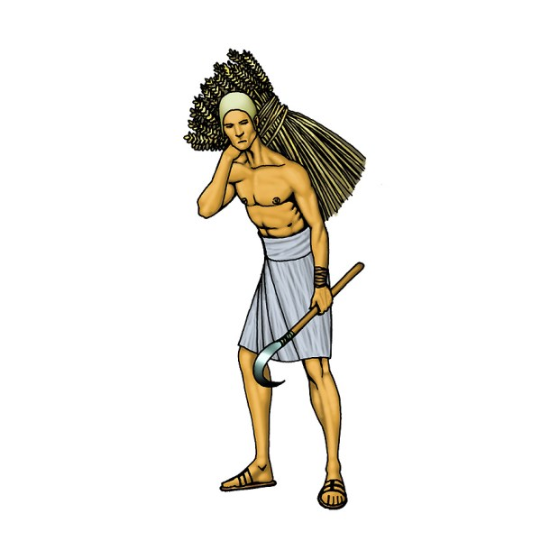 Ancient Egyptian Slaves Clip Art