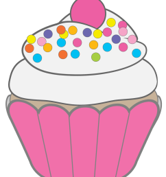 free clipart cupcakes [ 1050 x 1274 Pixel ]