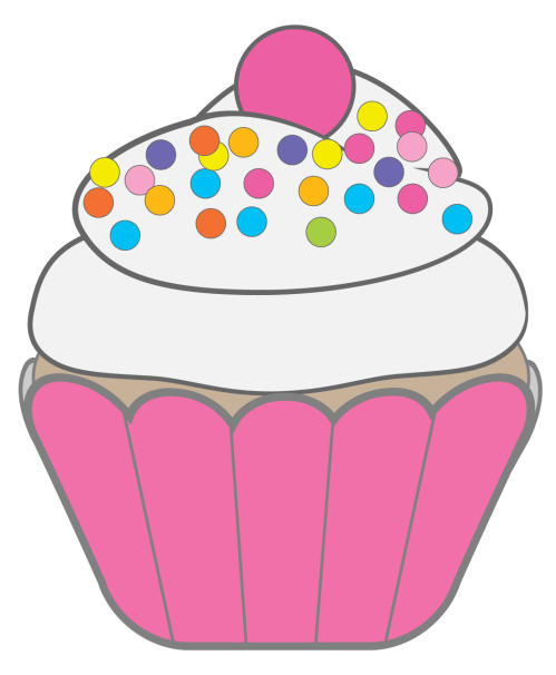 small resolution of free clipart cupcakes