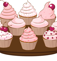 cupcake drawings and cupcakes clipart [ 1421 x 689 Pixel ]