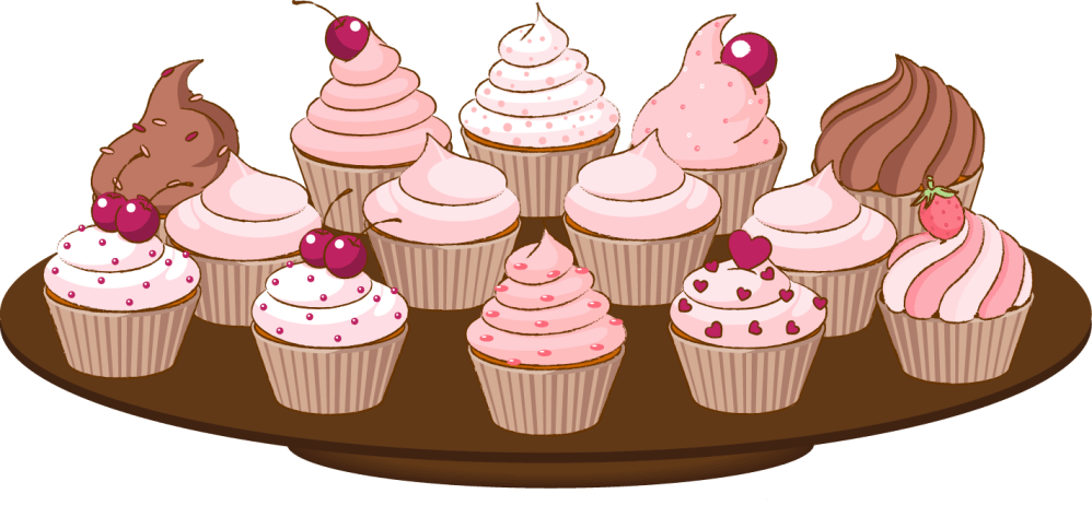medium resolution of cupcake drawings and cupcakes clipart