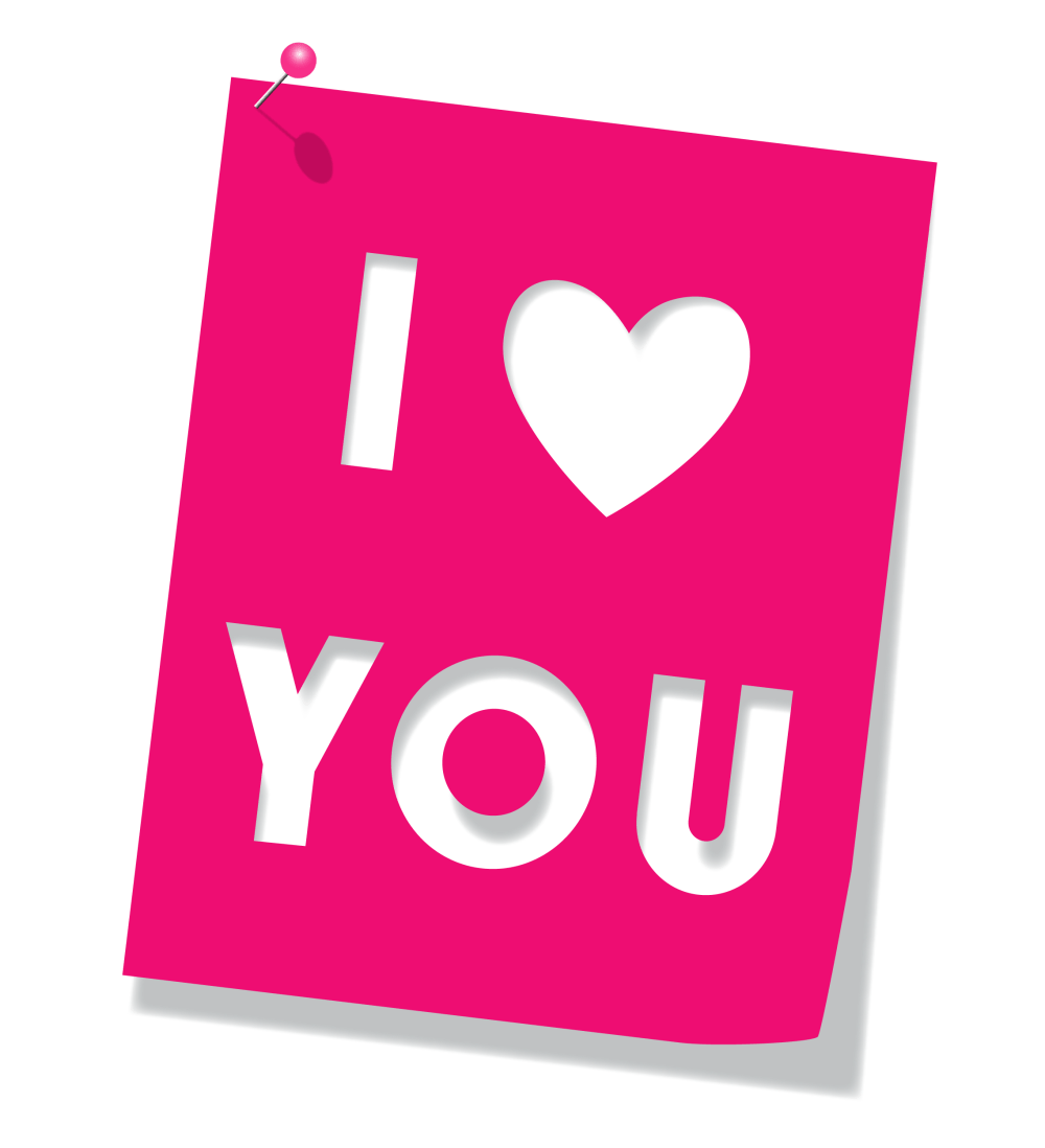 medium resolution of pink love you clipart picture 0 image