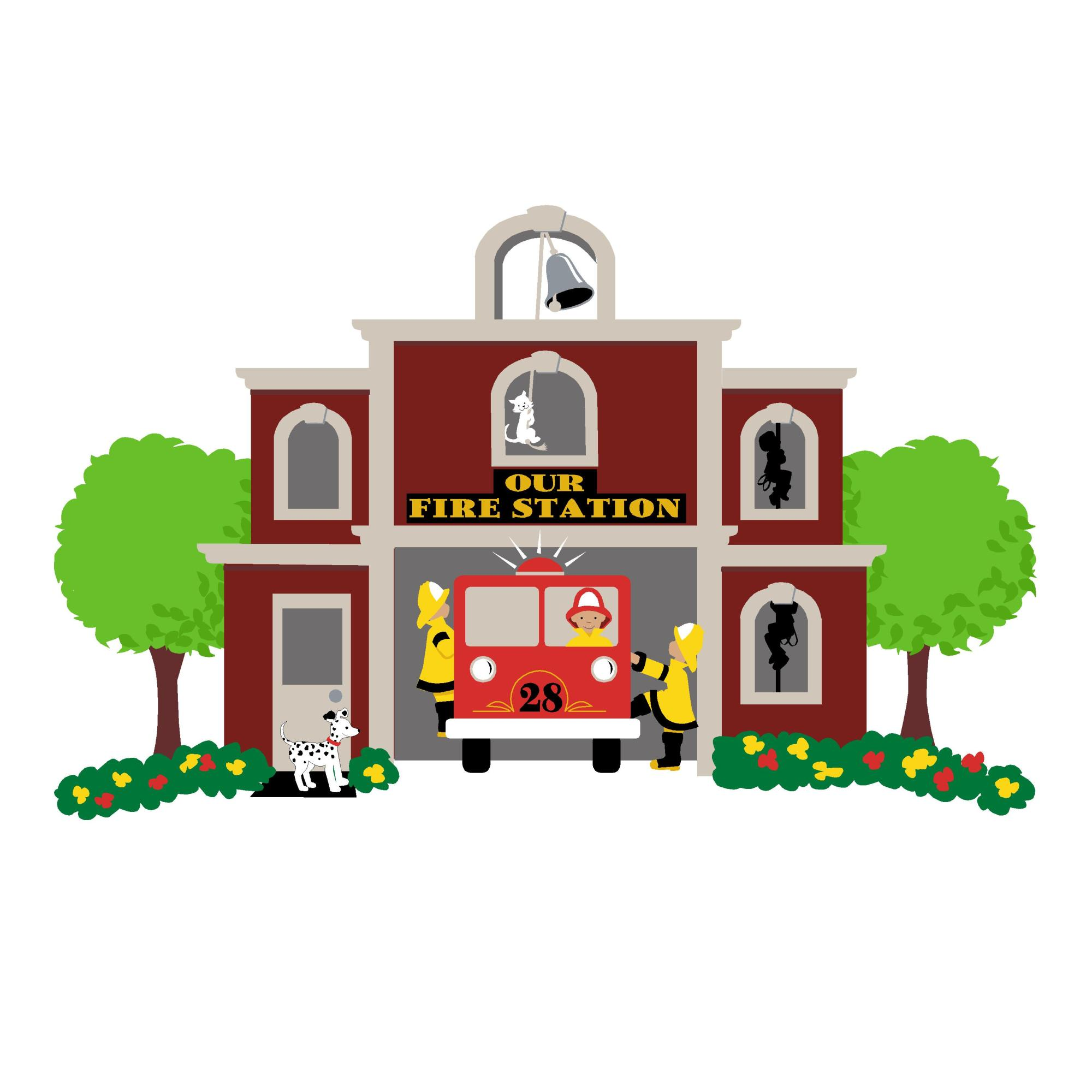 hight resolution of clip arts related to free fire station clipart