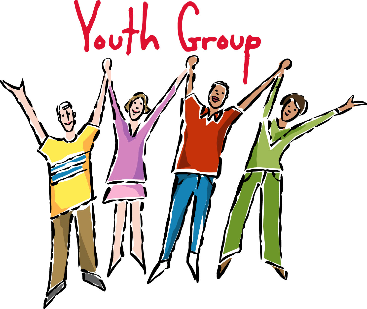 hight resolution of youth ministry clipart