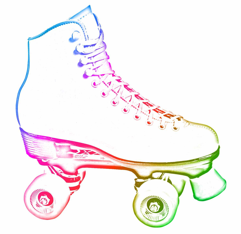 hight resolution of image for girl roller skating clip art
