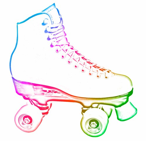 small resolution of image for girl roller skating clip art