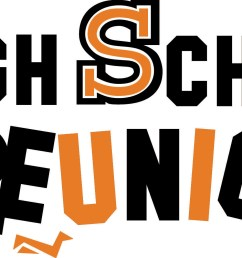 high school reunion clip art [ 2198 x 1008 Pixel ]