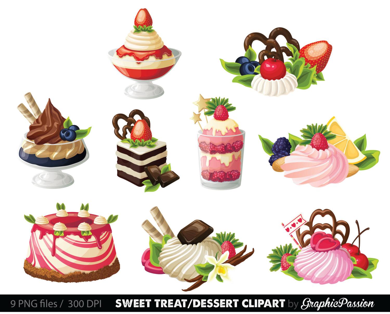 hight resolution of popular items for clip art dessert