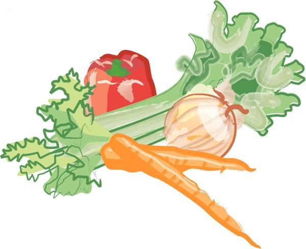 free veggie cliparts