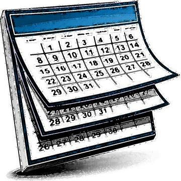 free calendars cliparts