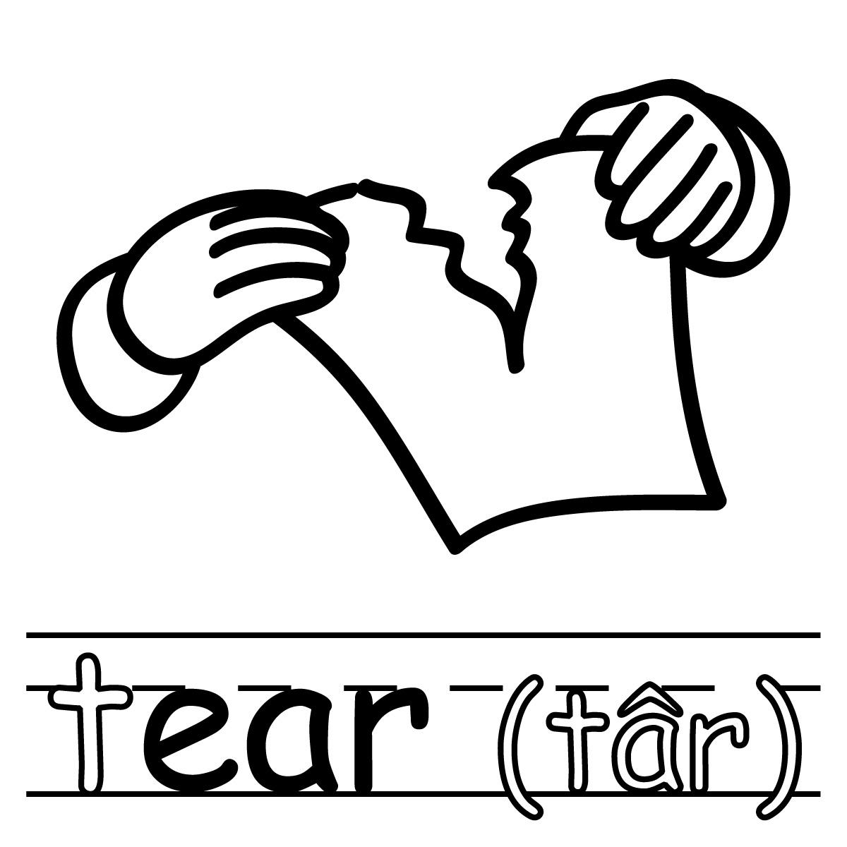 Free Tear Cliparts Download Free Clip Art Free Clip Art