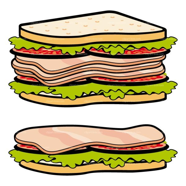 free sandwiches cliparts