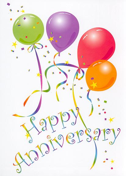 Work Anniversary Clip Art Free : anniversary, Anniversary, Library