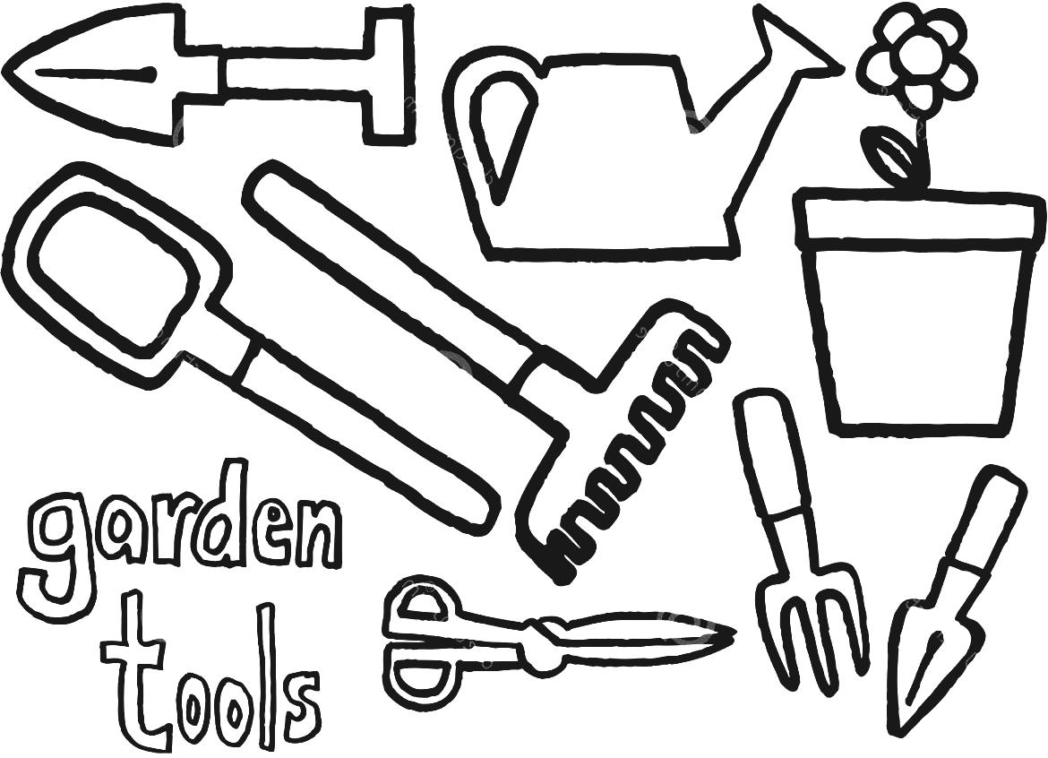 Classic Garden Urns This Post Gardening Tools Clipart