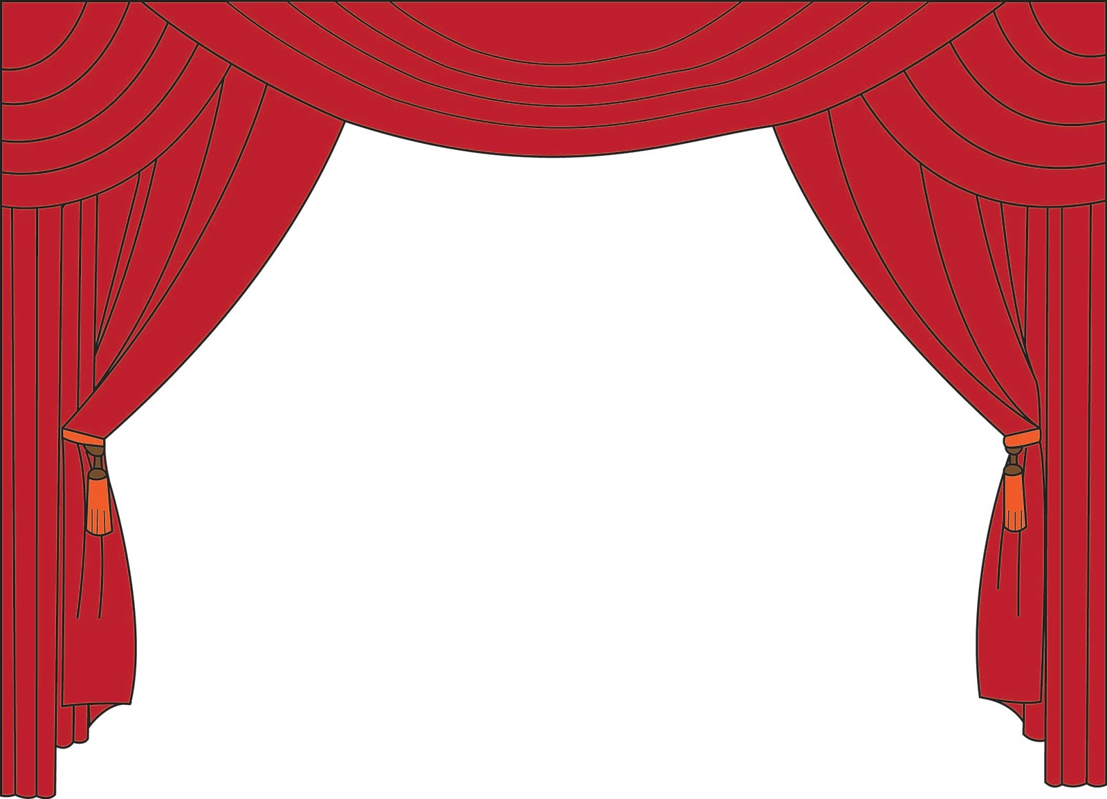 hight resolution of movie curtain clipart