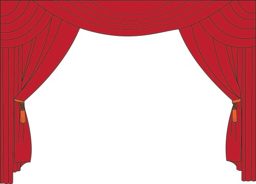 small resolution of movie curtain clipart