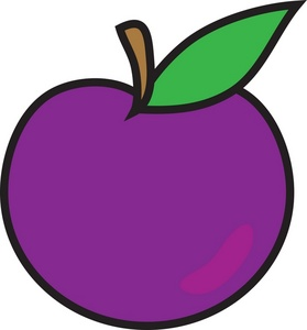 free plum cliparts